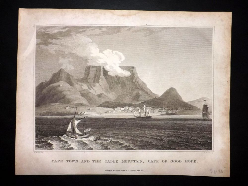 Clarke C1820 Cape Town And The Table Mountain Cape Of Good